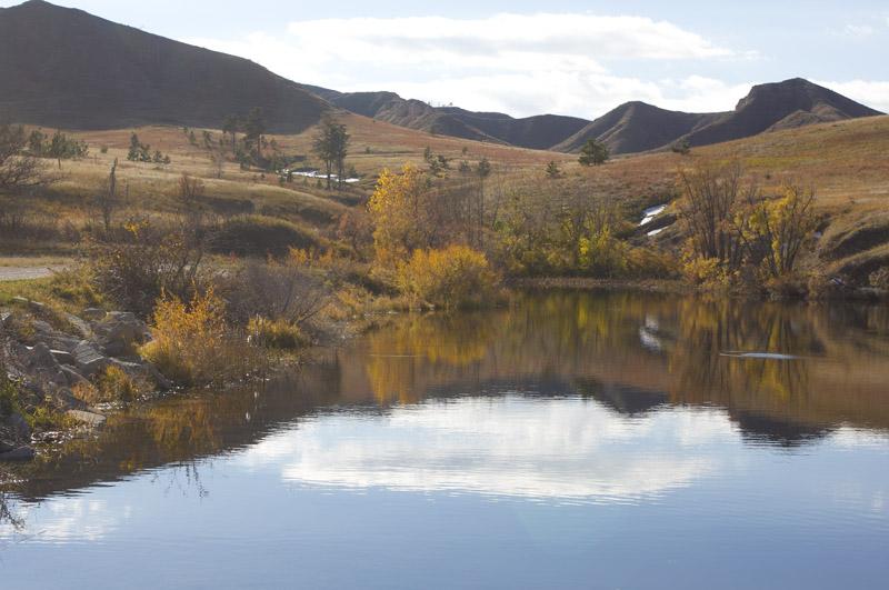 Fort Robinson Sra; Buttes; Fall; Carter P. Johnson Lake