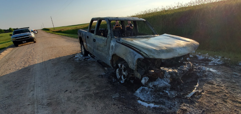 GCSO: Torched truck