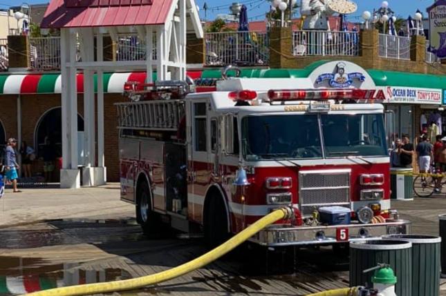 Ocean City Fireworks Accident