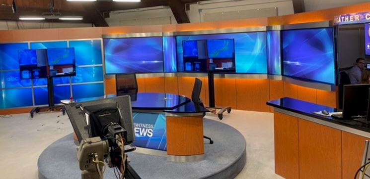 Channel 8 News Set