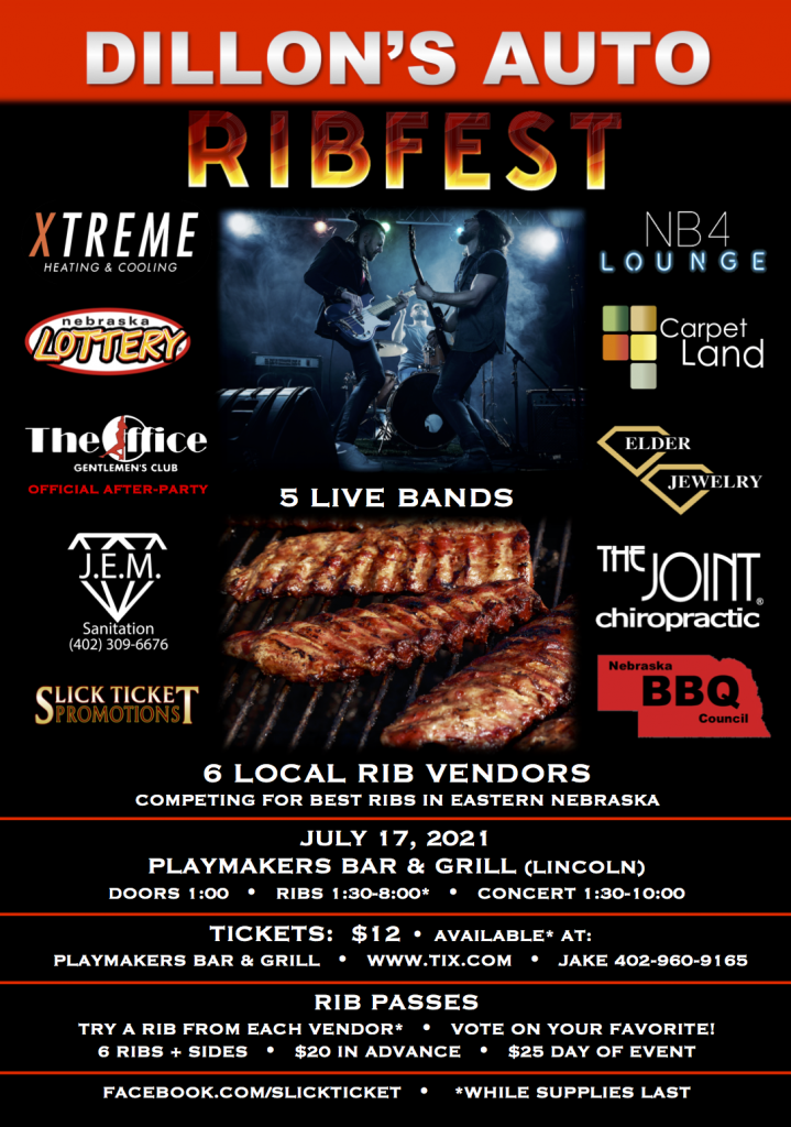 Dillons Auto Ribfest 2021 Poster Low Res