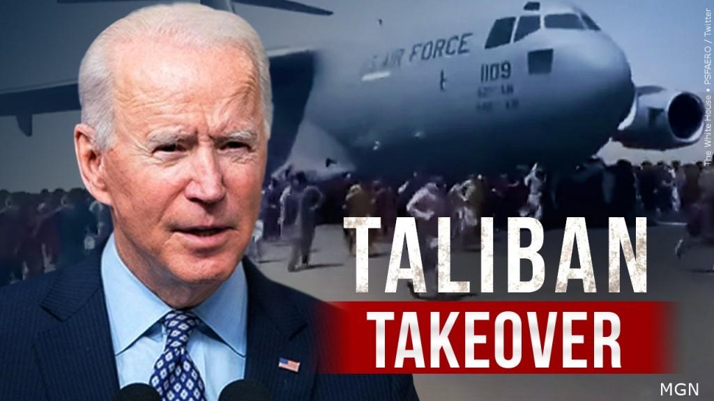 Biden Taliban Takeover White House