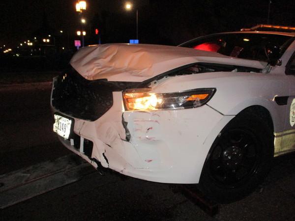 Police Cruiser Damage