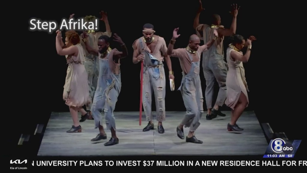 Step Afrika! Stops By Lied Center For Education And Fun