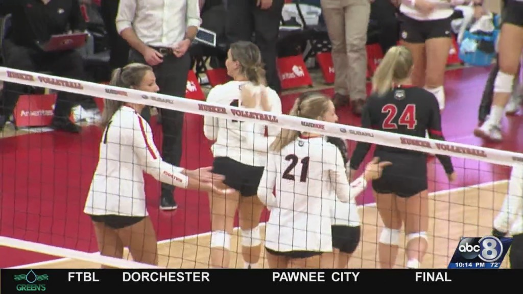 Nebraska Volleyball Struggles Early Against Omaha And Georgia But Remains Undefeated