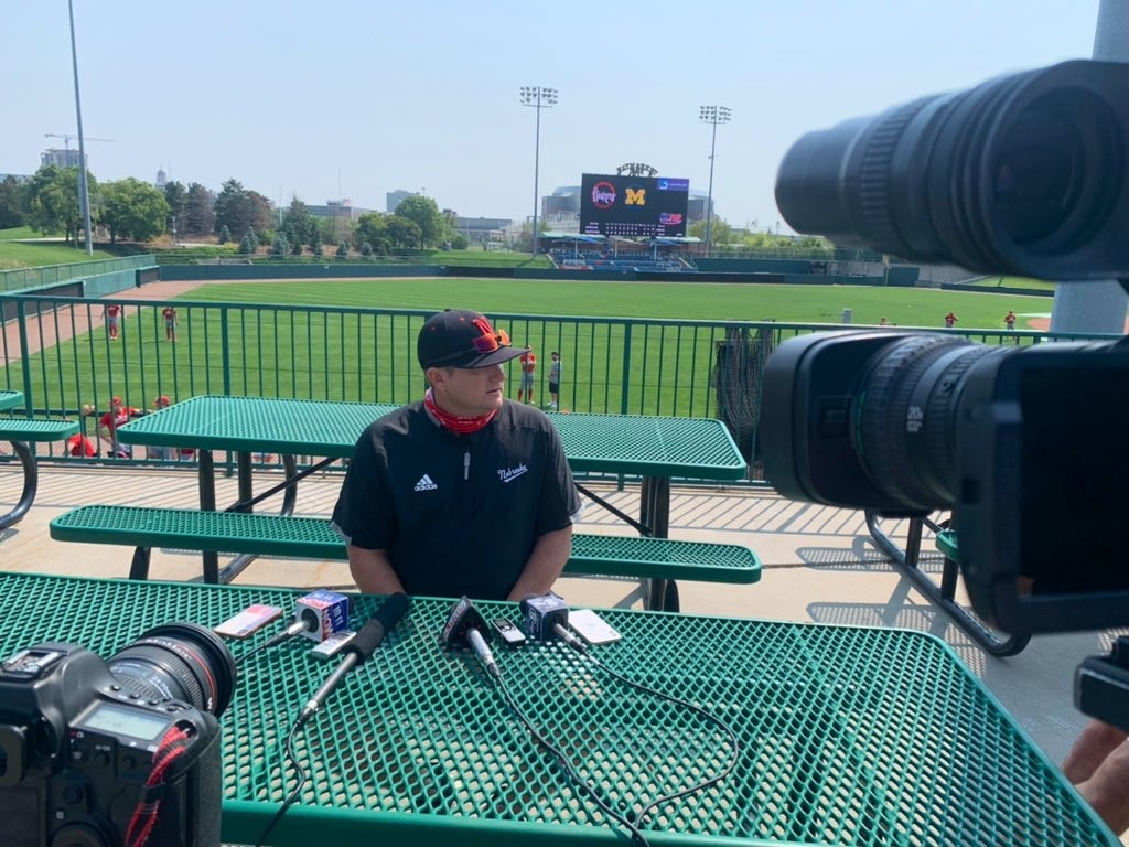 Husker baseball Interview
