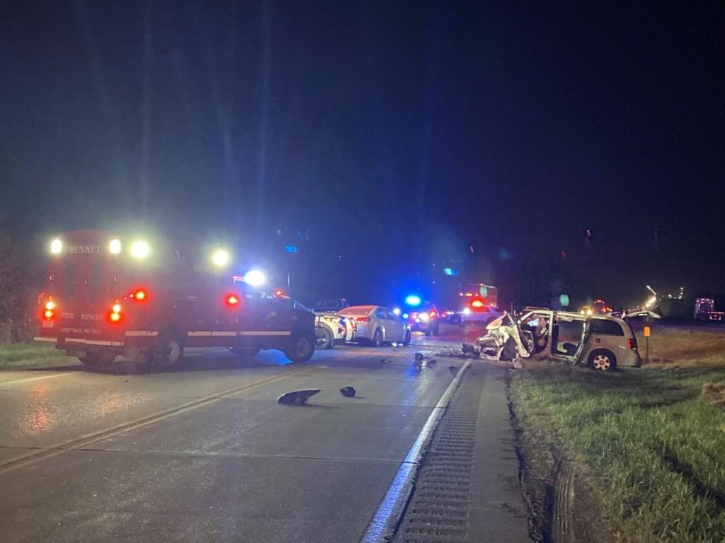 Crash Southeast of Lincoln