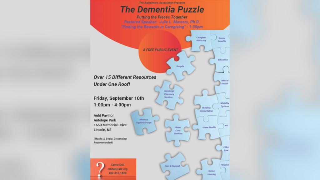"""""""The Dementia Puzzle."""""""