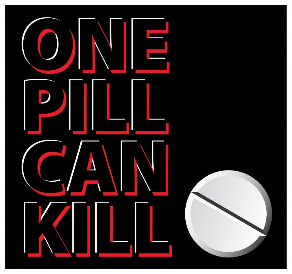 One Pill Can Kill Logo
