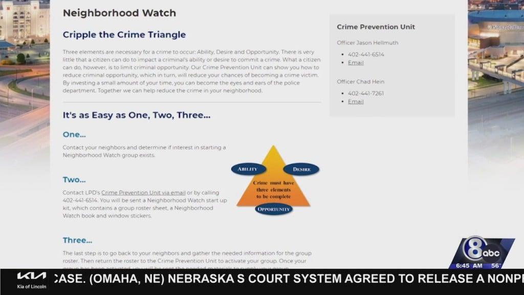Crime Tip Tuesday: Neighborhood Watch