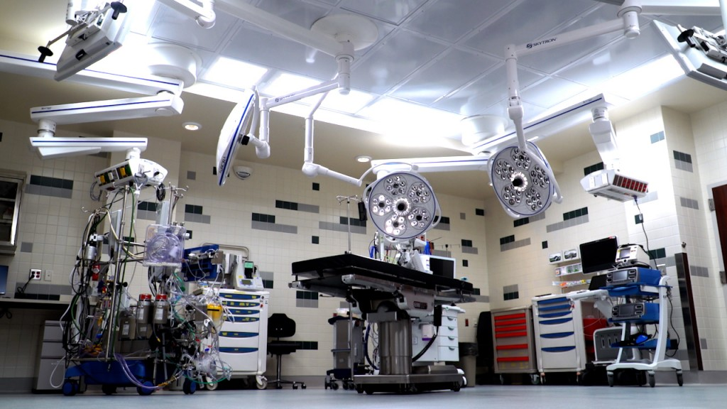 Cardiovascular Surgery Suite 2