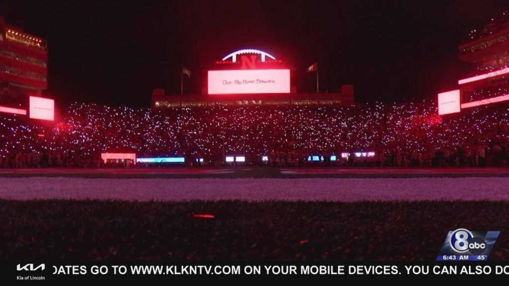 How The Memorial Stadium 'light Show' Turned Into New Husker Tradition