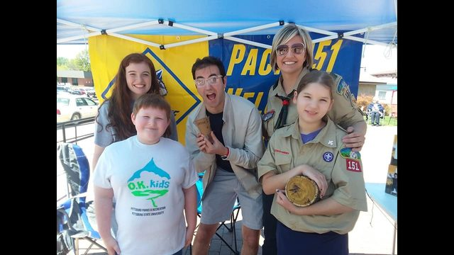 Earth Day with Troop 151G