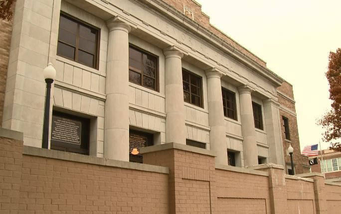 Memorial Hall in Joplin temporarily closes its doors following a partial roof collapse