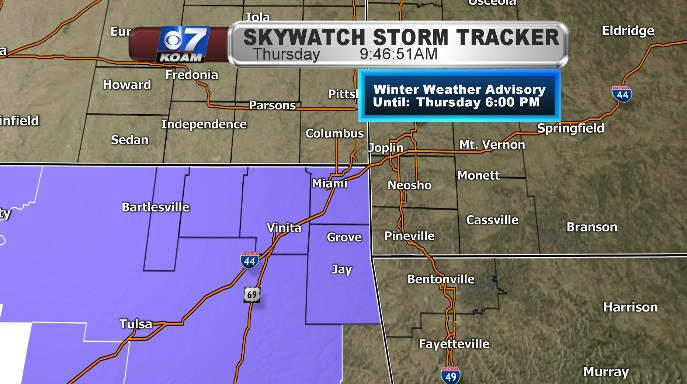 Winter Weather Advisories extended