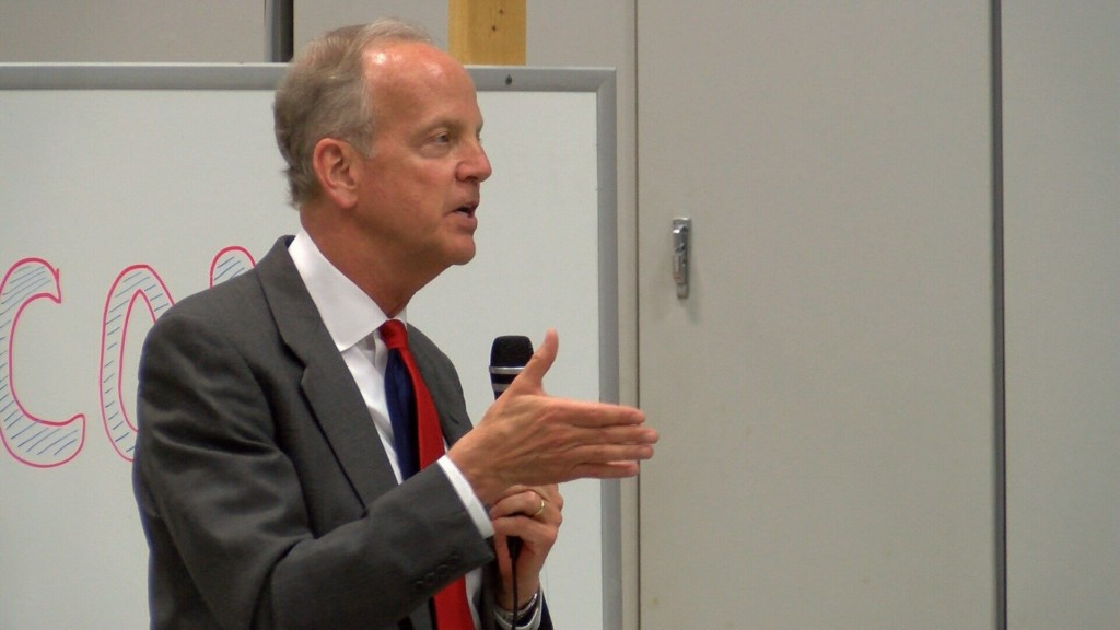 One on one with Sen. Jerry Moran