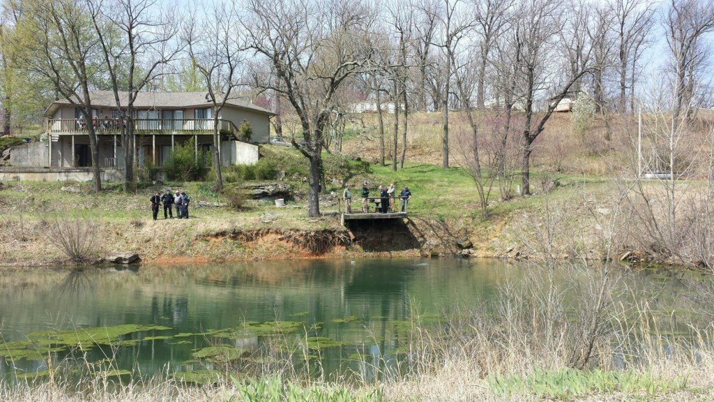 Authorities search pond, investigation into latest lead in Sarah Burton case continues