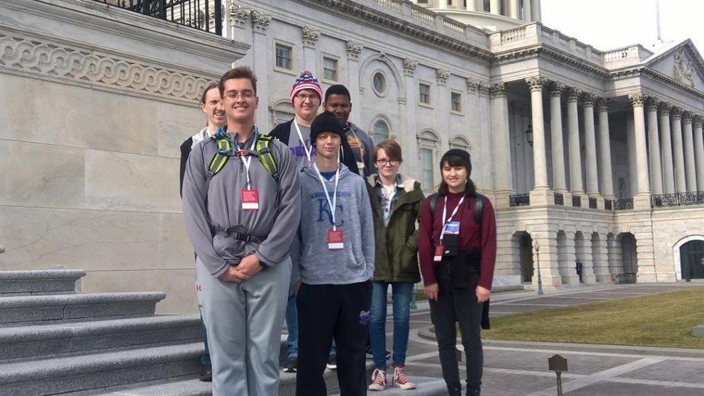 Four State Residents Attend the Inauguration