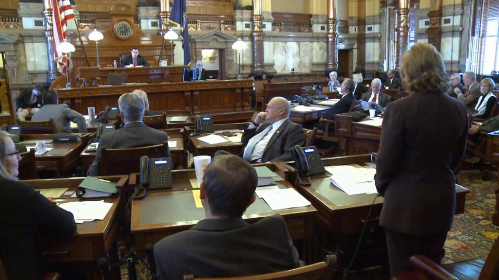 Kansas Lawmakers React to Income Tax Bill