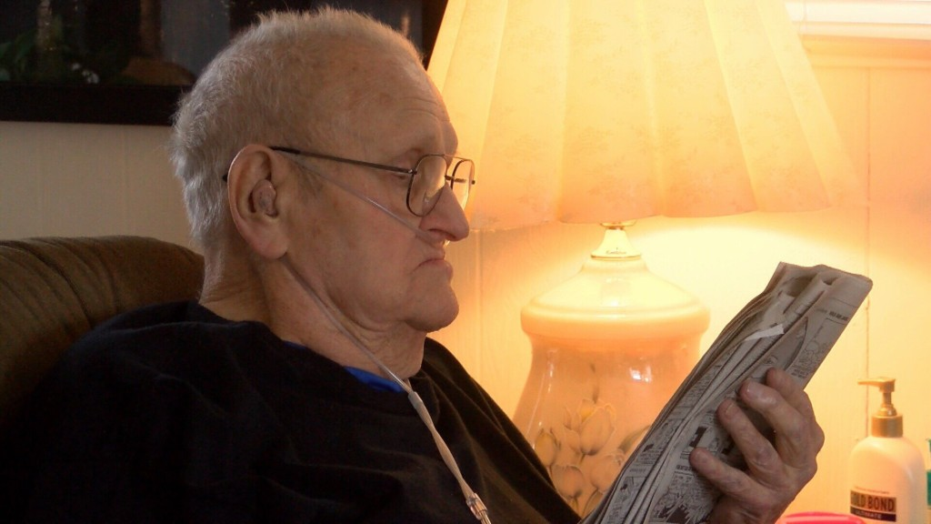 WWII Veteran Gets Help With Home Improvements