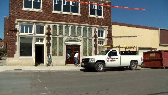 Joplin's First Green Sustainable Historic Buildings: 200 Block Commons