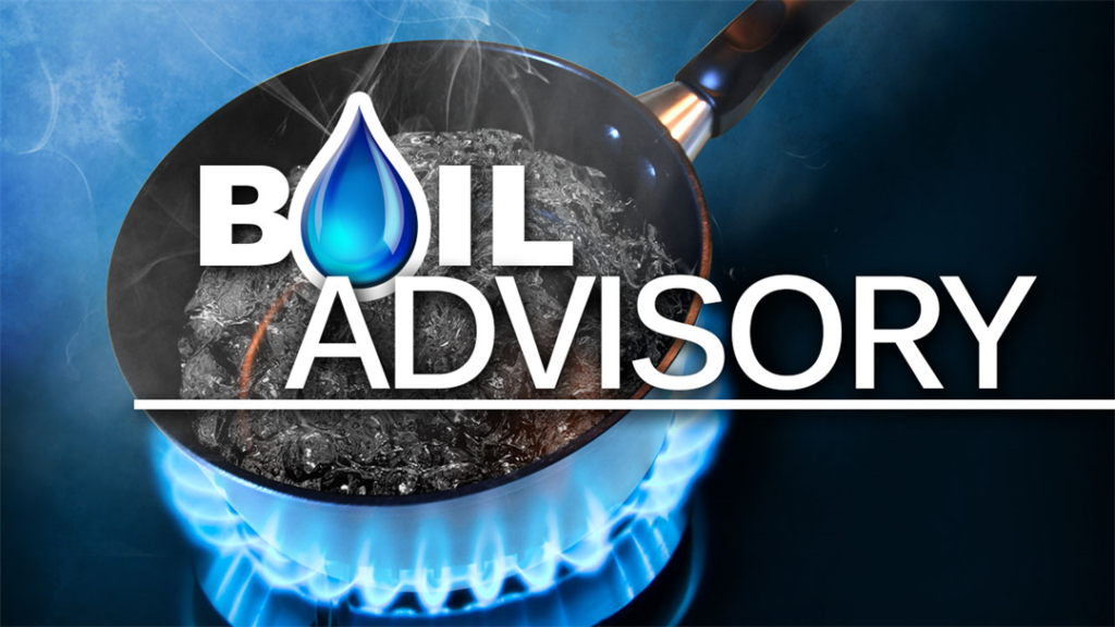 Boil Water Advisory issued