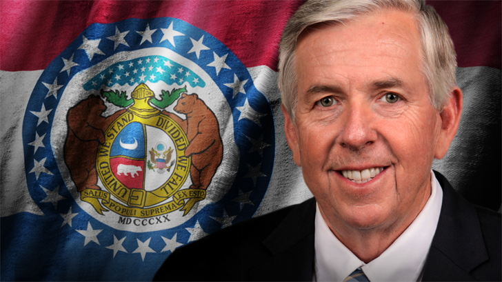 MO Gov. Mike Parson announces Coronavirus protections