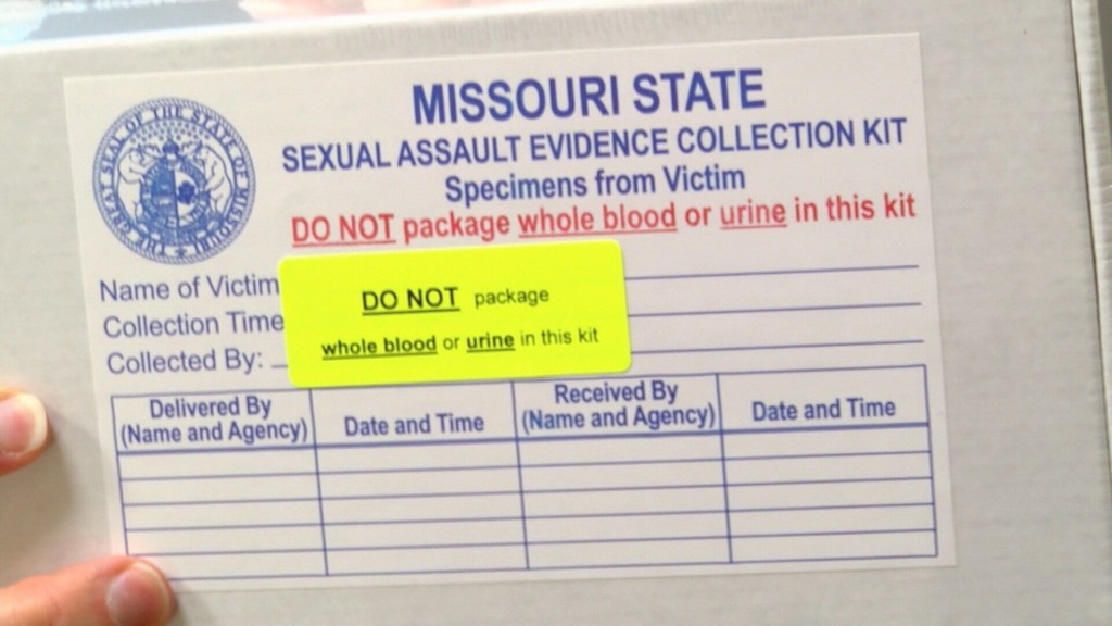 Review finds 90% of Missouri's backlogged rape kits never tested