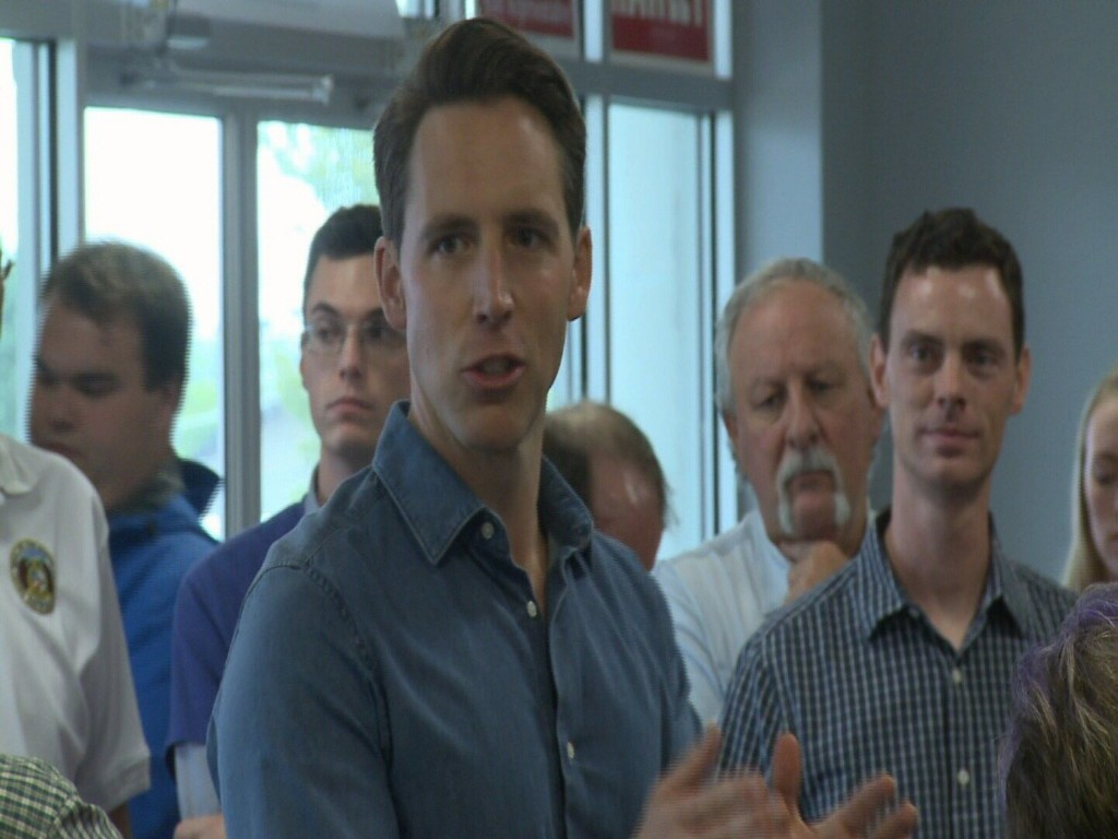 Josh Hawley Challenges Claire McCaskill To Debate In Joplin