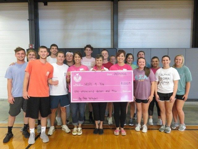 Big Pink Volleyball Tournament benefits breast cancer foundation
