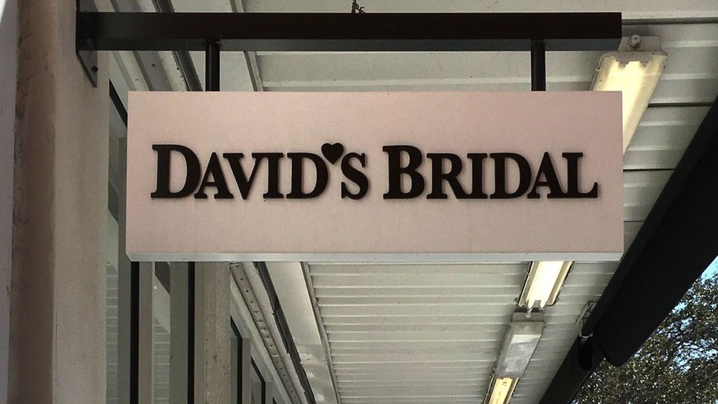 David's Bridal files for bankruptcy protection