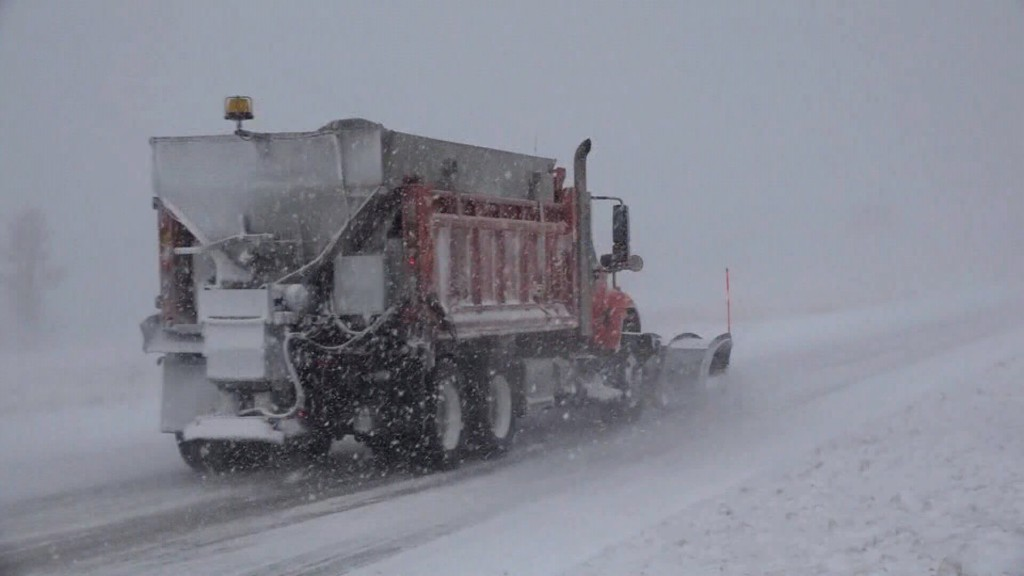Blizzard Conditions Prompt State of Disaster Emergency in Kansas