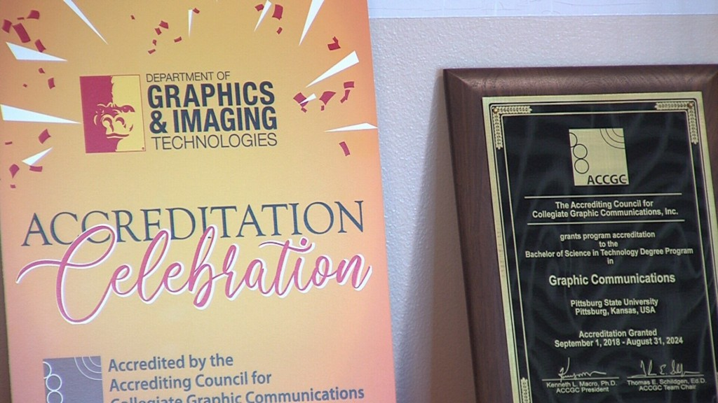 PSU Graphics and Imaging Tech Celebrates Accreditation