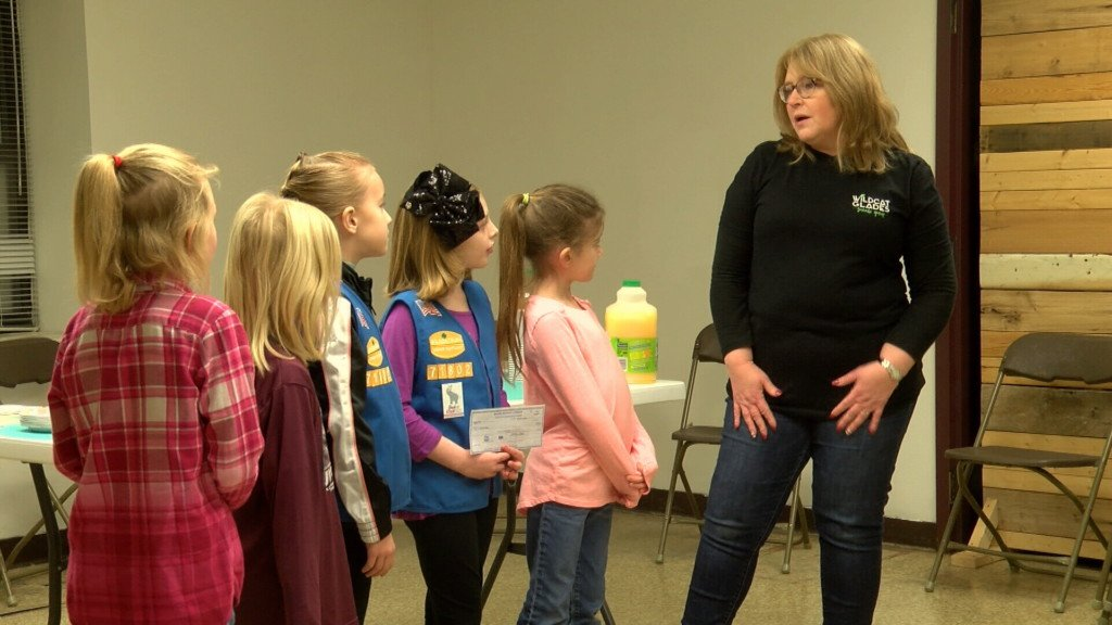 Former Girl Scouts keep helping their community