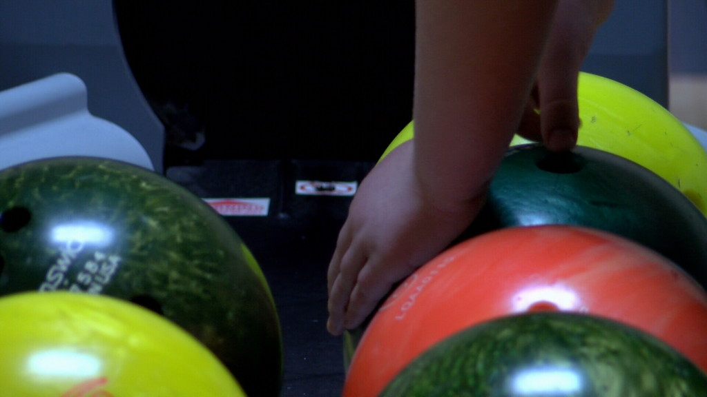 Bowling fun for foster families