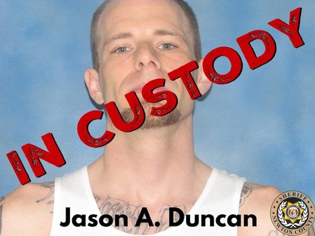 Update: Jasper co. deputies  arrest man wanted in Newton County home invasion