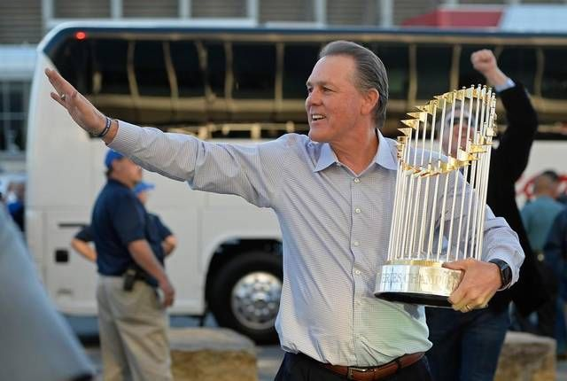 World Series trophy makes visit to PSU