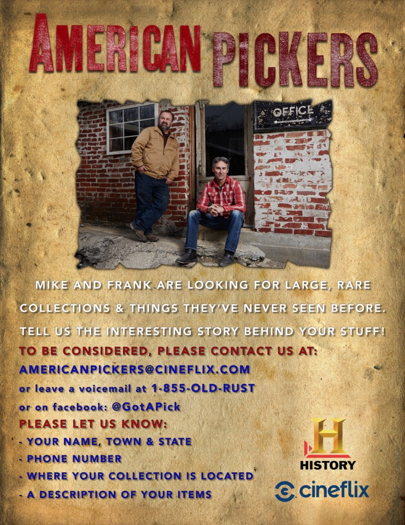 They're back, American Pickers to film in Missouri