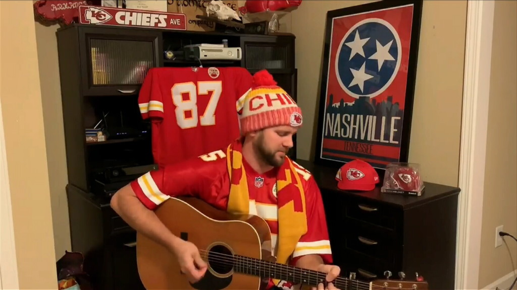 Chiefs fan continues with another version of 'Kansas City'