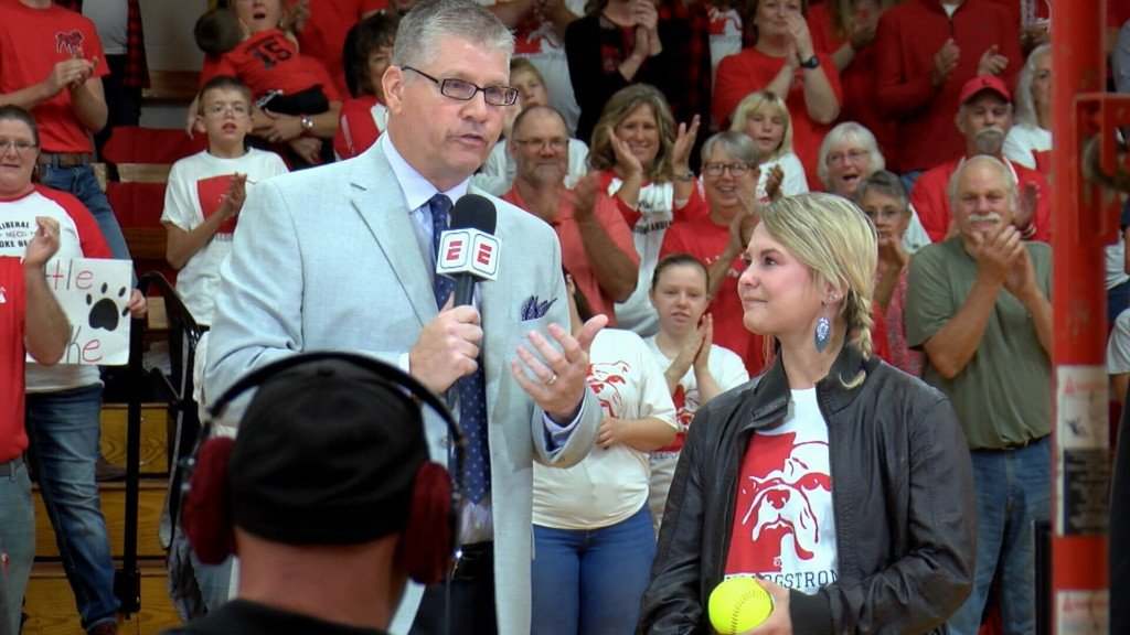 ESPN comes to Liberal to celebrate Brooke Bearden