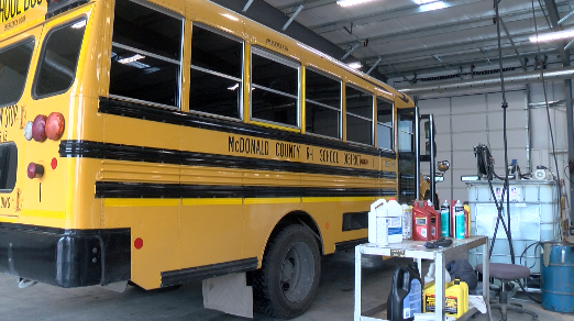 McDonald County bus passed inspection the day before fire