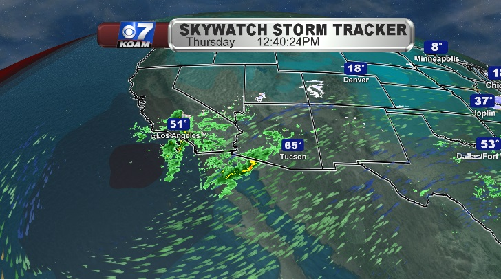 Low pressure system presses inland and heads our way this week