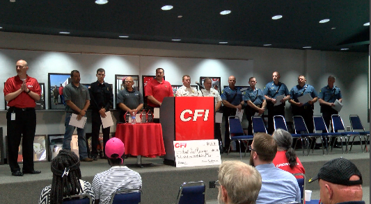 CFI donates $100,000 to local first responders for water rescue boats