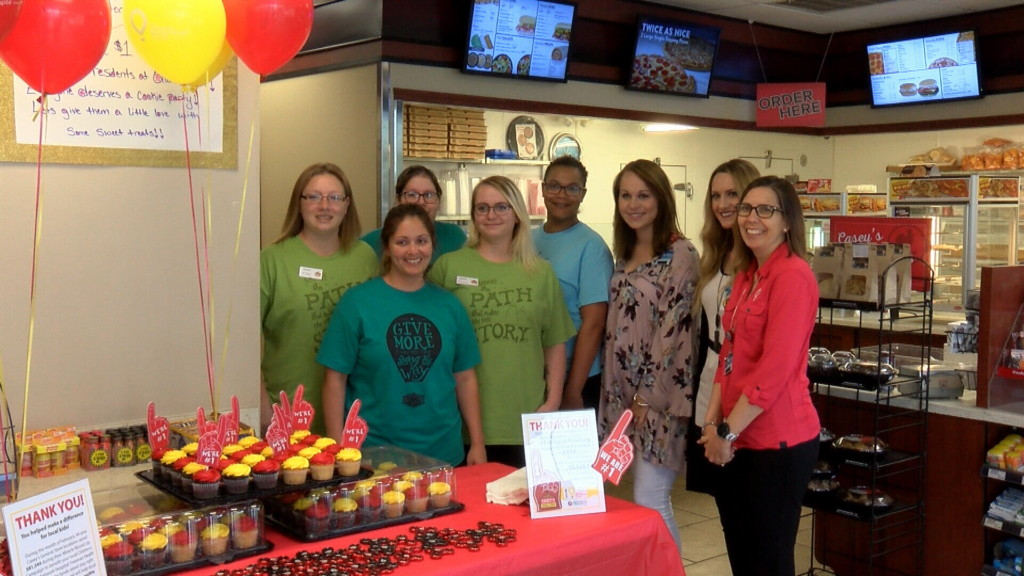 "Casey's ""rounds up"" thousands for Children's Miracle Network"