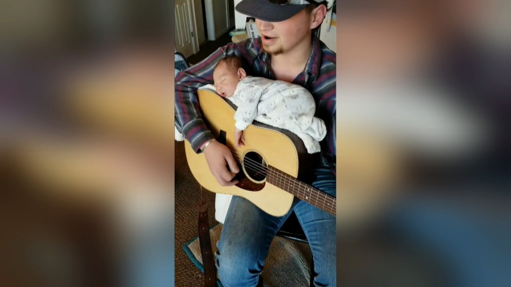 Local family becomes internet sensation over lullaby