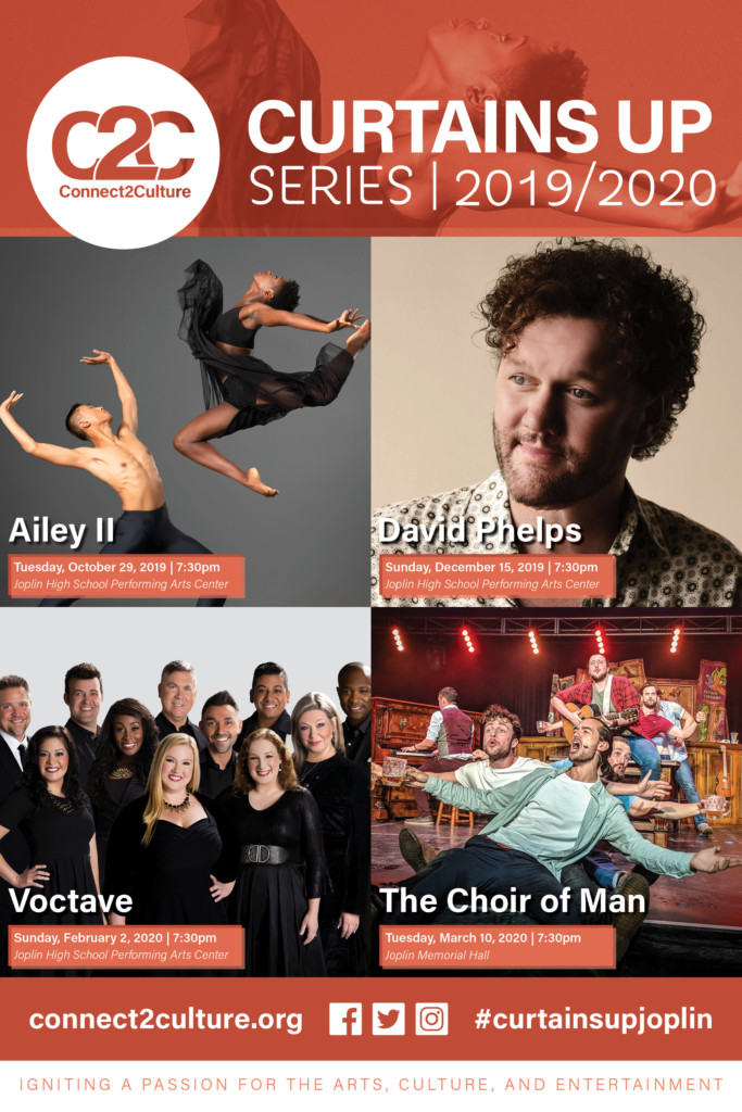 Connect2Culture's Curtains Up Series 2019/2020