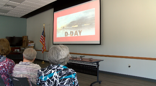 D-day presentation held for the upcoming 75th Anniversary