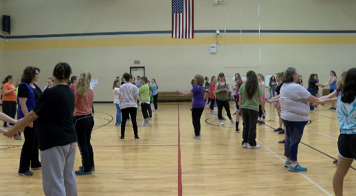 Women's self defense class hits home for one