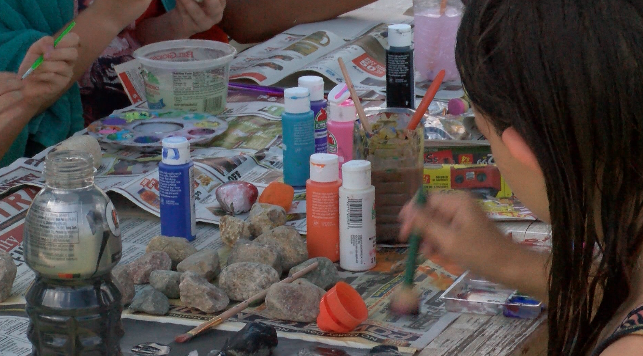 Kids For Peace Joplin holds rock painting event for International Drop a Rock day