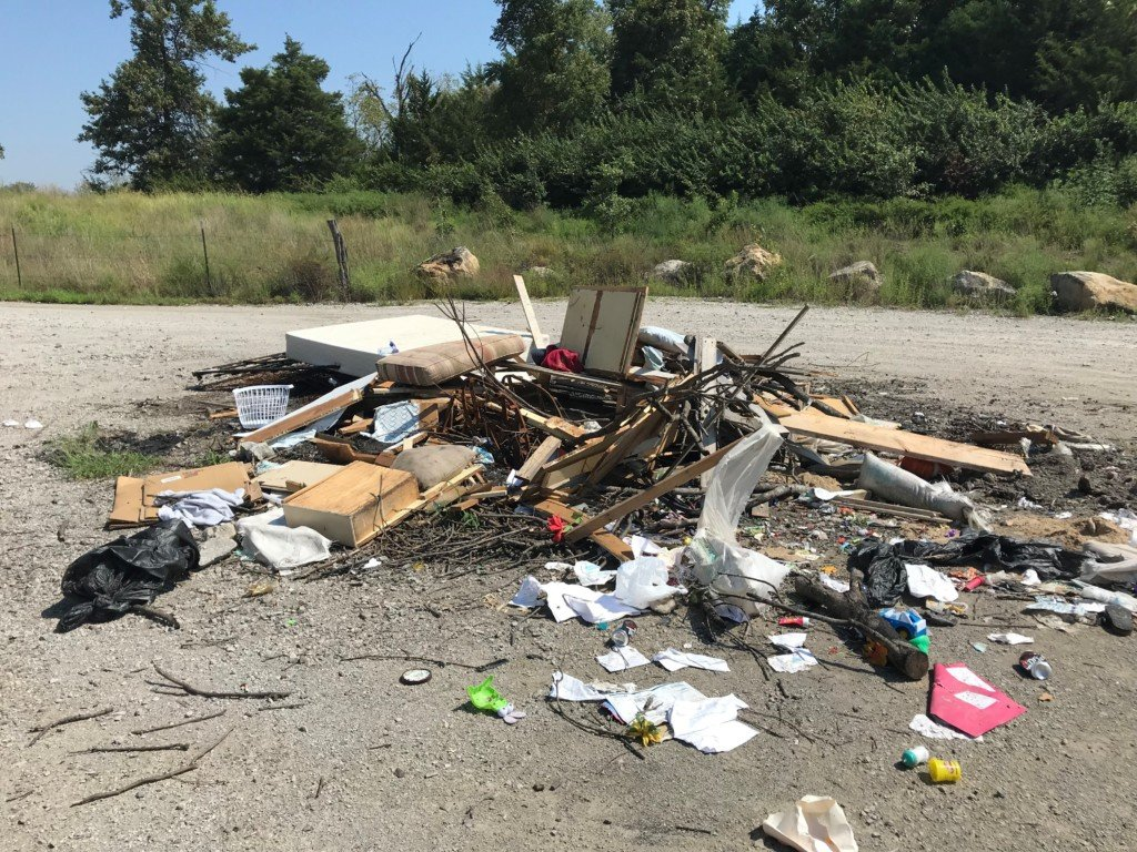 Illegal trash dumping at Mined Land Wildlife Area is becoming a continuous problem